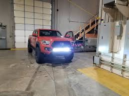 auxbeam light bar review auxbeam 32 180w 5d led light bar review bumper mounted tacoma world