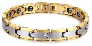 magnetic gold bracelet images Buy men 39 s tungsten magnetic bracelet bracelets uae souq jpg
