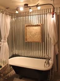clawfoot tub bathroom design attractive clawfoot tub bathroom ideas 2 corrugated metal