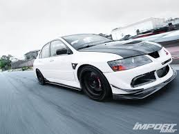 evo 8 spoiler 2005 mitsubishi lancer evolution mr import tuner magazine