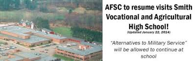 Alternative To Resume Afsc To Resume Visits To Smith Vocational And Agricultural