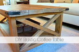 Coffee Tables Rustic Wood Lacquer Rustic Farmhouse Coffee Table Diy Rachel Schultz