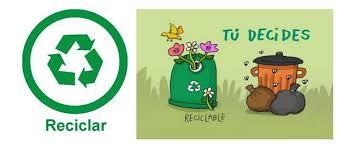 imagenes animadas sobre el reciclaje regla de las tres erres ecológicas reducir reutilizar reciclar