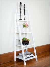 white bookcases target ladder shelf ana white mintra oak finish 5 tier ladder black