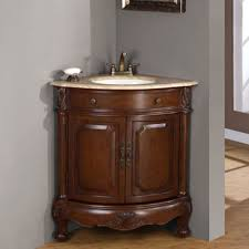 Bathroom Corner Furniture Corner Bathroom Vanity Maximize Your Space See Le Bathroom