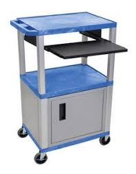 multimedia cart with locking cabinet h wilson mobile multimedia multipurpose tuffy utility av cart