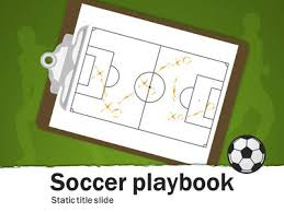soccer playbook a powerpoint template from presentermedia com