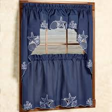 nautical window curtains window treatments compare prices at