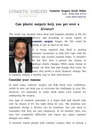 Seeking What S Your Deal Can Plastic Surgery Help You Get A Divorce