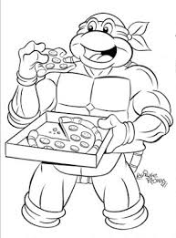 awesome collection teenage mutant ninja turtle coloring pages