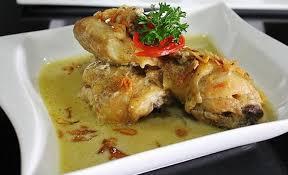 menu pelengkap opor ayam resep opor ayam kutai khas kalimantan yang mantap dan super