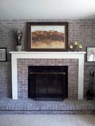 best brick fireplace makeover ideas u2014 home fireplaces firepits