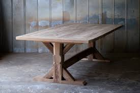 Dining Room Tables Reclaimed Wood by Reclaimed Wood Farm Table Woodworking Athens Atlanta Ga