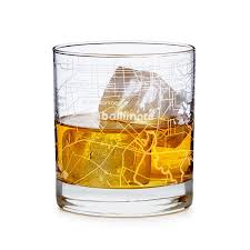 old fashioned cocktail illustration city map glass city glass new york chicago san francisco