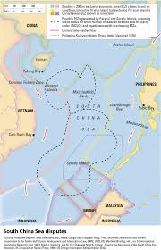 Spratly Islands Map The South China Sea Dispute Drayton Tribune