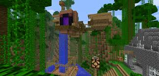 minecraft treehouse by popking247 on deviantart