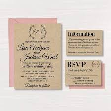Blank Wedding Invitations Blank Wedding Invitation Kits Marialonghi Com