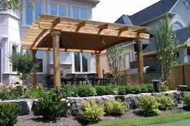 Pergola System by Arched Canopy In Oakville Shadefx Canopies