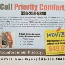 priority comfort heating and air heating air conditioning hvac