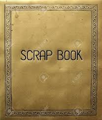 Antique Photo Album Old Scrapbook Cover Stock Photo Picture And Royalty Free Image