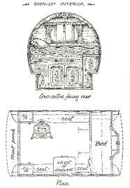 Interior Layout Journey Folki U003e History U0026 Culture U003e The English Gypsy Vardo U003e The
