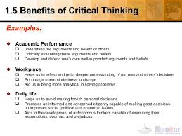 Critical Thinking Skills   Developing Effective Analysis and Argument    Global Journal of Community Psychology Practice