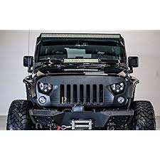 jeep wrangler front grill amazon com jeep wrangler front grille black eagle eye falcon eye