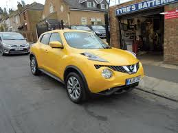 nissan juke yellow interior used nissan juke tekna yellow cars for sale motors co uk
