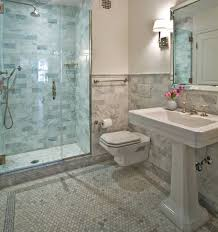 tiled bathrooms ideas bathroom bathroom fancy black and white shower pebble floor with