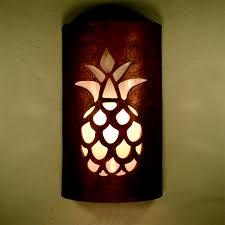 Pineapple Light Fixture A Custom 14 Closed Top Sky Light Has The Pineapple
