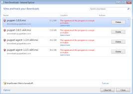 installing puppet agent microsoft windows puppet pe and open