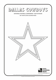 dallas cowboys u2013 nfl american football teams logos coloring pages