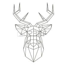10 394 deer head stock illustrations cliparts royalty free