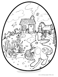 easter printable coloring coloring pages kids