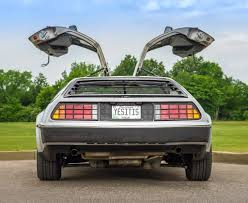 lowered cars and speed bumps 1982 delorean dmc 12 classic car photography by william horton