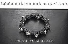 bracelet skull images Paracord skull bracelet gif