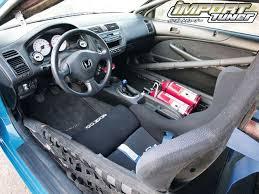 2001 honda civic ex interior 2001 honda civic 200 mph turbocharged import tuner magazine