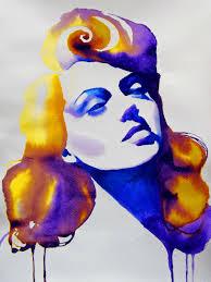 lana turner giclee art print of original by kimberly godfrey