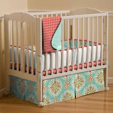kids coral crib bedding nursery sets all modern home designs