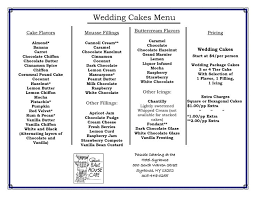 wedding cake fillings design wedding cake flavors and fillings ingenious