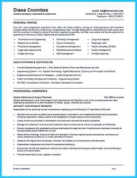 Maintenance Resume Examples When You Want To Seek A Job In Aircraft Industry You Need To Have