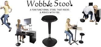 sit stand desk chair wobble stool ergonomic active sitting office chair perfect standing