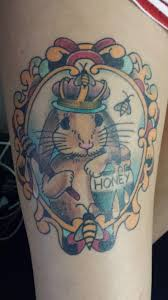 my princess honey bunny tattoo by zach at jade monkey tattoo
