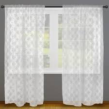 shop amazon com window balloon shades dii sheer lace decorative window treatments for bedroom living room small windows curtain panels set of 2 50 x 63