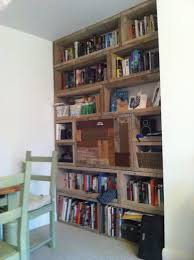 Timber Bookcases Scaffold Board Bookcase Diy Shelves Pinterest Scaffold