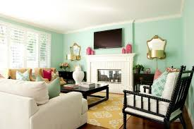 green blue paint colors contemporary living room glidden sea