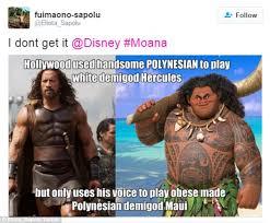 Samoan Memes - disney under fire for making polynesian god fat in new children s