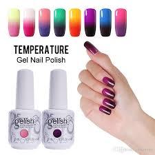 cure nail polish with uv l fashion changing gel nail polish gelish nail art soak off uv led