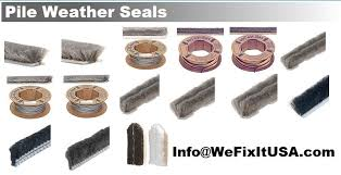 Patio Door Weatherstripping Wool Pile Weatherstrip Fuzzy Type Pile Astragal Patio