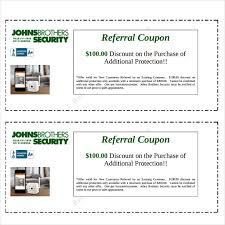referral coupon templates u2013 17 free psd ai vector pdf format